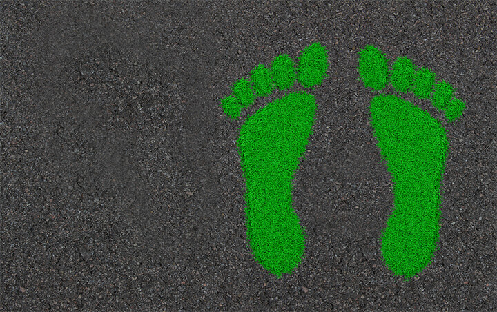 Can virtual training reduce my company's carbon footprint?