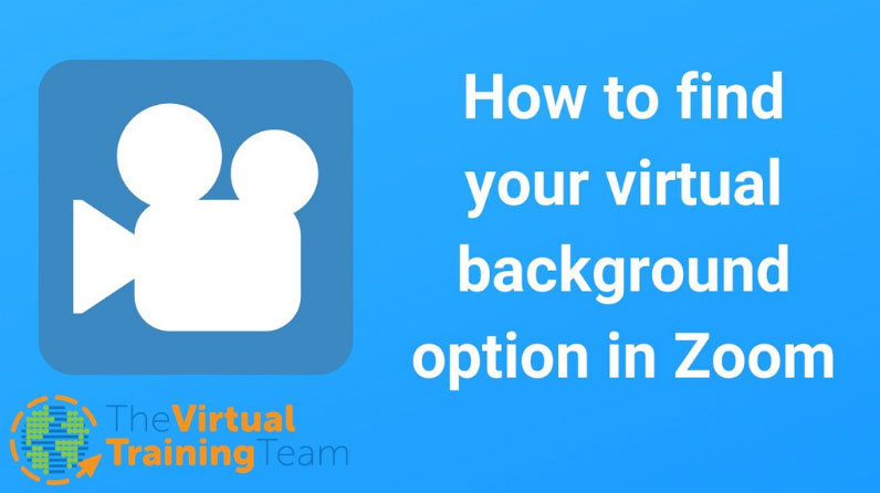How to Find the Virtual Background Option in Zoom