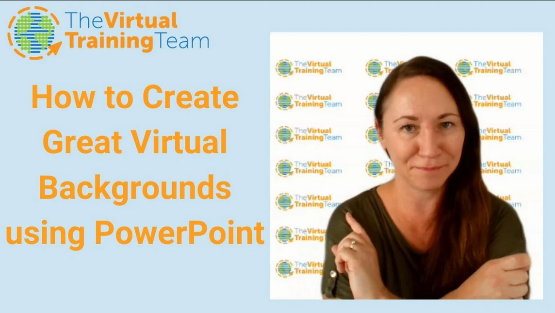 How to Create Great Virtual Backgrounds using PowerPoint