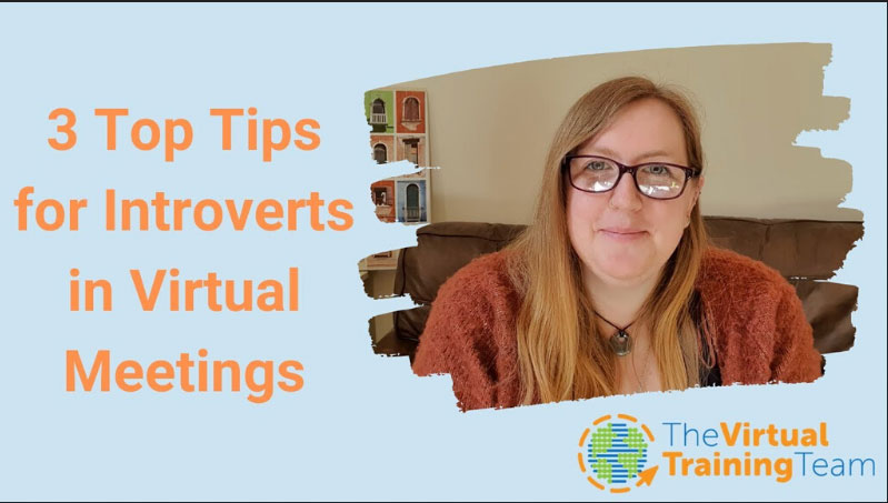 3 Top Tips for Introverts in Virtual Meetings