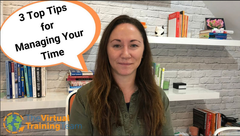 3 Top Tips for Managing Your Time
