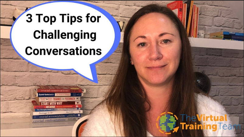 3 Top Tips for Challenging Conversations