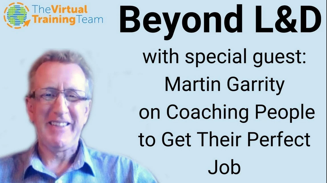 Martin Garrity on Coaching People to Get Their Perfect Job