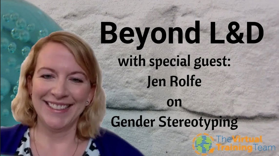 Beyond L&D: Jen Rolfe Shares Insights on Gender Stereotyping and its Impact on Young People