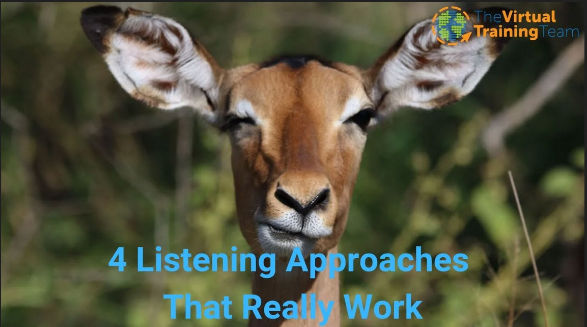 Use These 4 Listening Approaches That Work