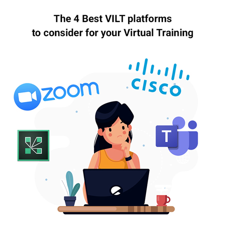 Virtual Instructor-Led Training software platforms